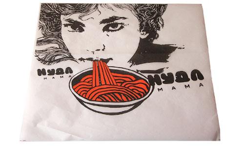 пищевой пергамент с логотипом