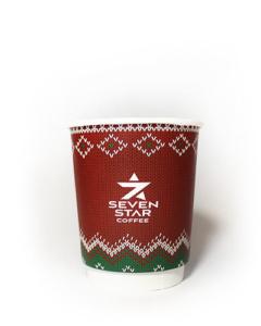 бумажные стаканы крафт логотип