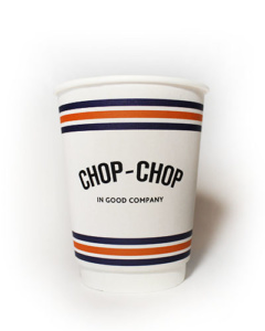 бумажные стаканы для кофе с логотипом заказать