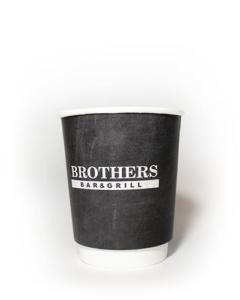 бумажные стаканы с логотипом на заказ