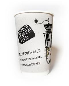 производство бумажных стаканчиков с логотипом