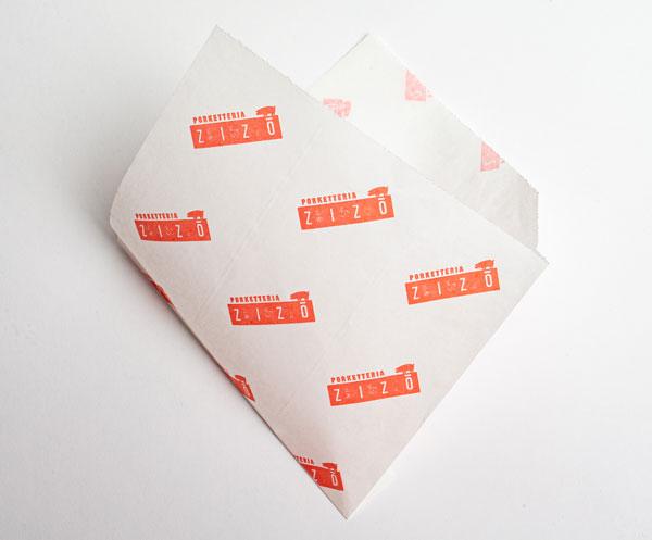 упаковка для бургеров конверт – уголок