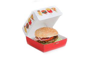 упаковка для гамбургера